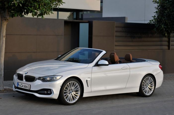 BMW 4 Series Coupé 420i Convertible F33
