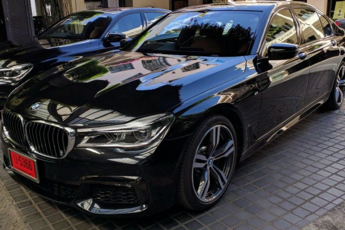 BMW Series 7 730Ld M Sport 2016